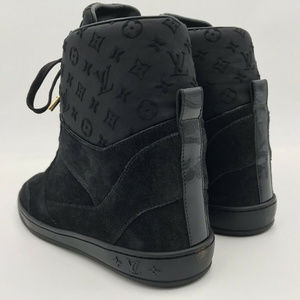 Louis Vuitton Shoes - New Louis Vuitton Millenium Wedge Sneakers